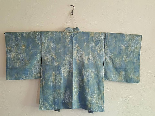 Blue Women's Haori