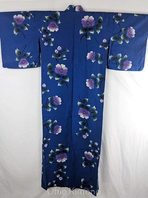 Blue & Lavender Yukata