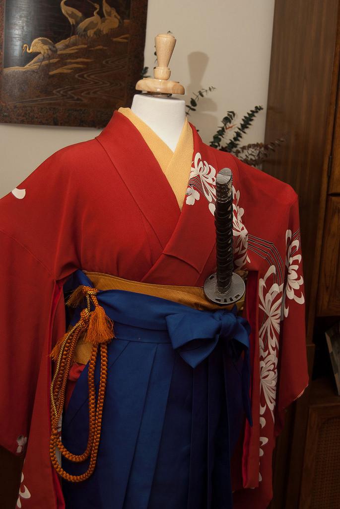 Wonder Woman Kimono Kitsuke