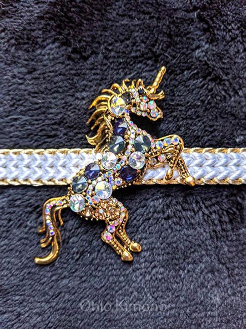unicorn obidome for kimono