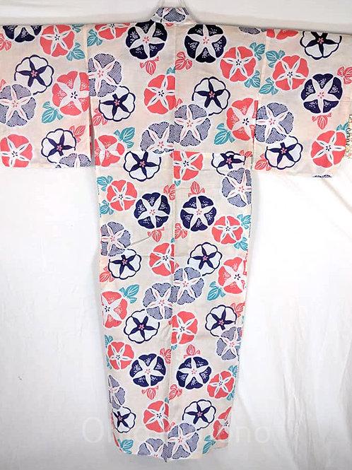 flower cotton yukata
