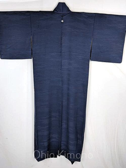 blue iromuji kimono