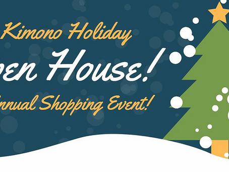 Ohio Kimono Holiday Open House