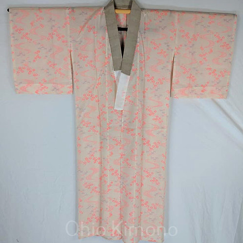 pink cotton juban
