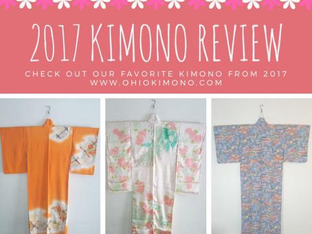 Top 10 Kimono Of 2017