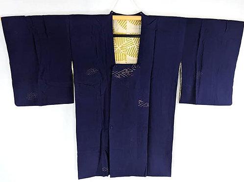 blue silk michiyuki urushi