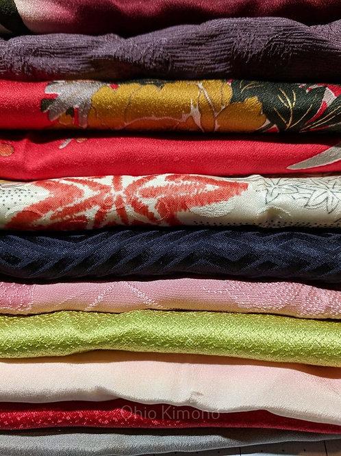 kimono scrap fabric bundle