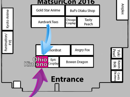Matsuricon 2016! See you there!