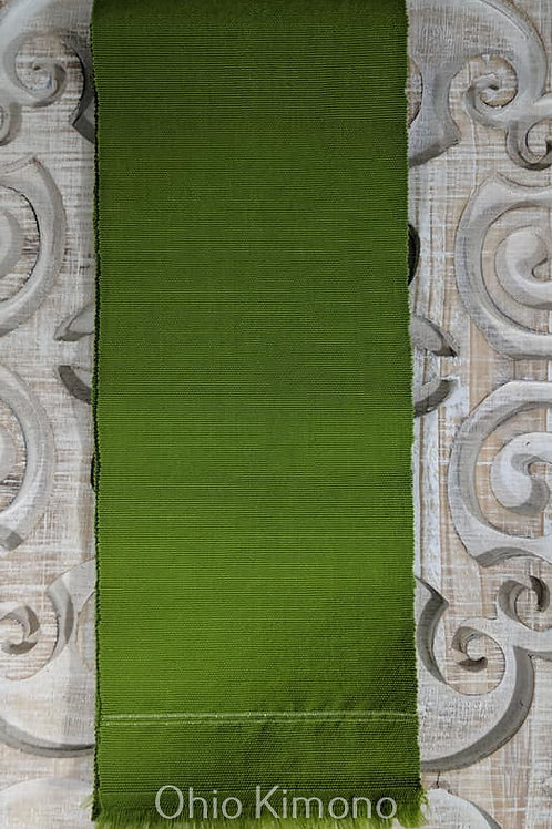 Pine Green Hanhaba Obi