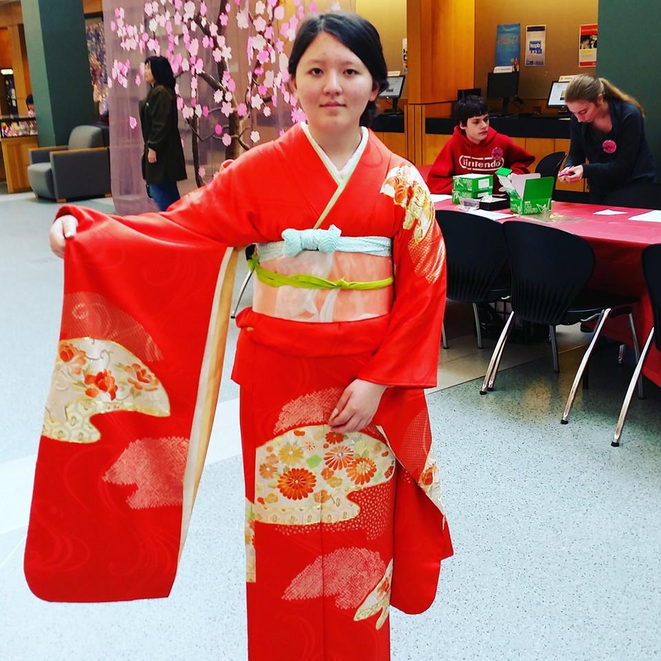 Cherry Blossom Festival Kimono