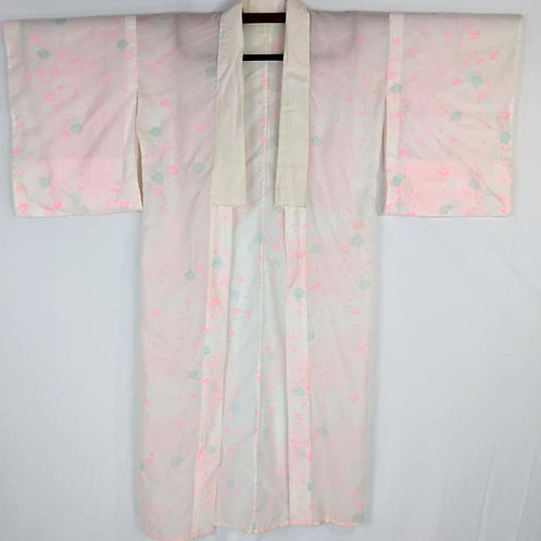 Pale Blue & Pink Juban