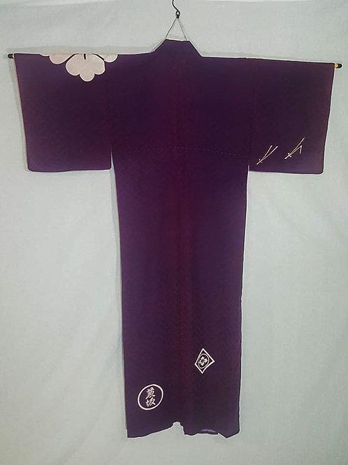 Purple Men's Kimono
