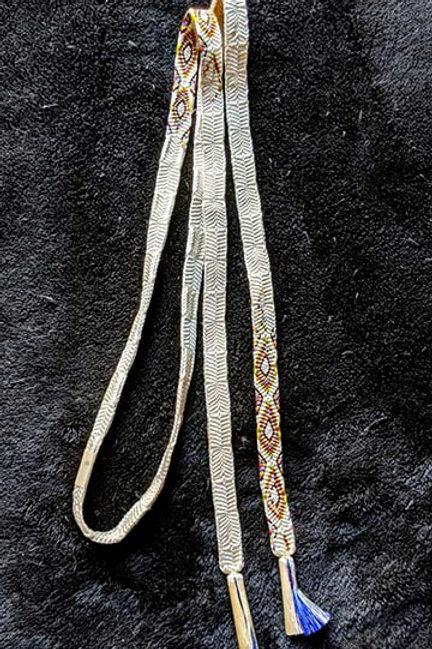 flat braid obijime for japanese kimono