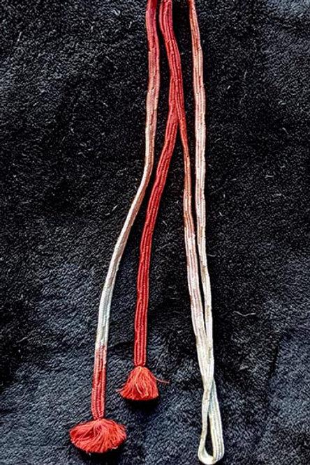 flat braid obijime for kimono