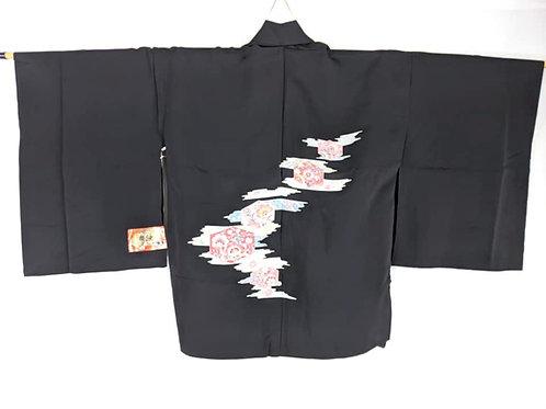 black haori from ohio kimono