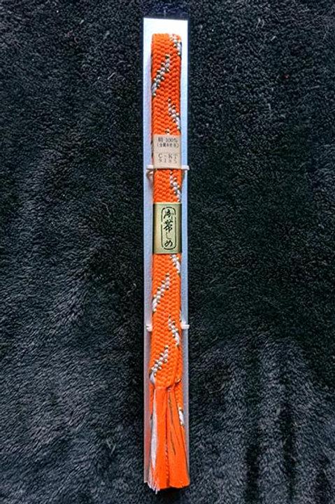 formal orange obijime