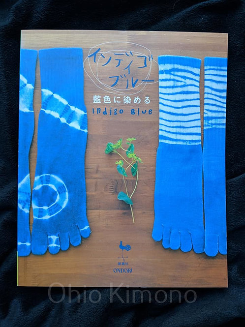 indigo blue dye book