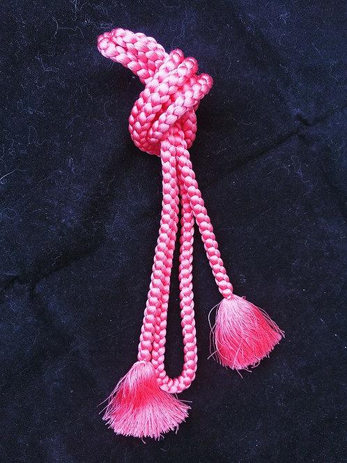 Silk Pink Obijime