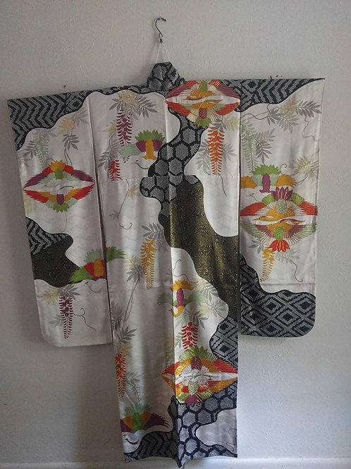 Buy Real Furisode Kimono Online