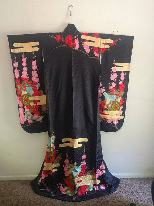 Formal Japanese Kimono - Kakeshita