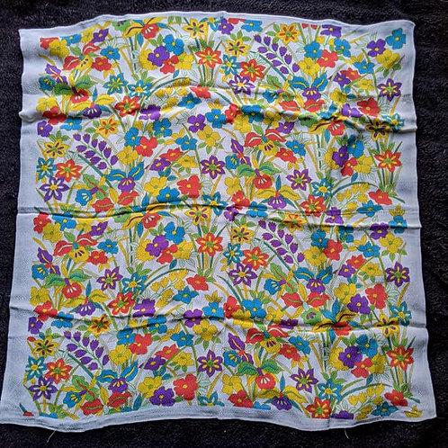 white furoshiki gift wrap cloth