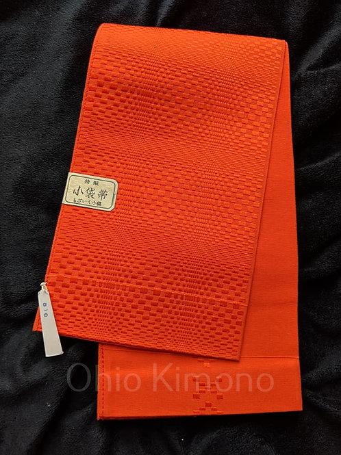 orange hanhaba obi for yukata