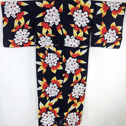 yukata flowers