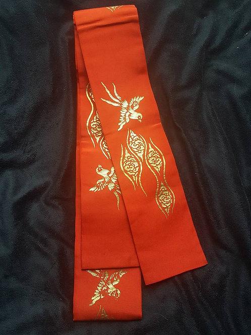 Red & Gold Obi