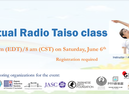 Let's Connect and do Radio Taiso together! June 6th, 2020!