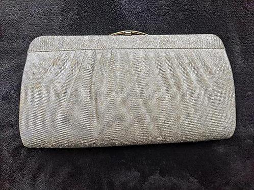 silver kimono purse