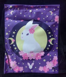 Bunny In The Moon - Kimono Bag