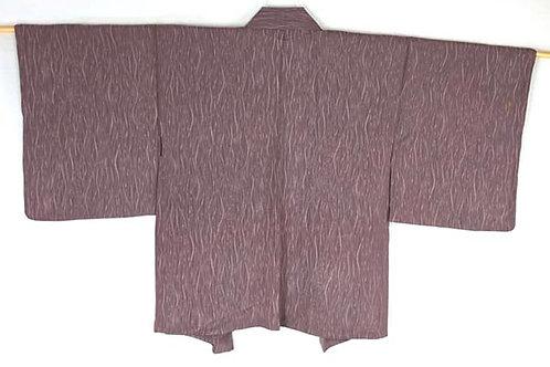 vintage mauve haori for women