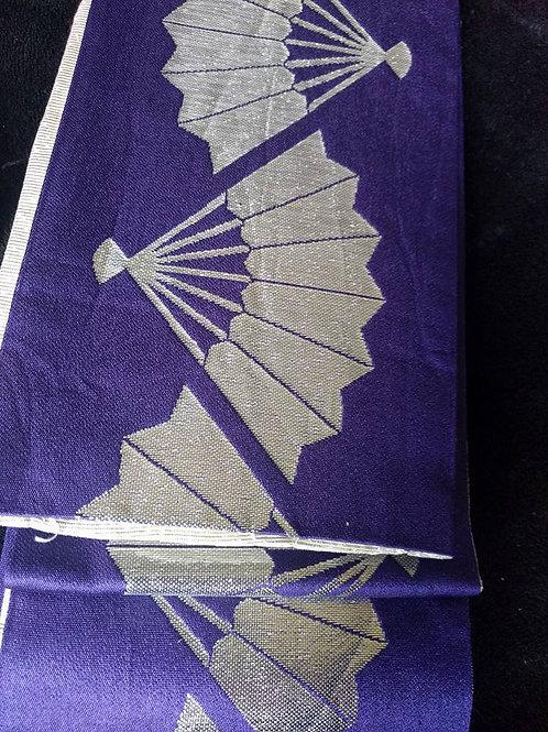 Purple Odori Japanese Obi