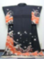 Geisha Hikizuri Kimono