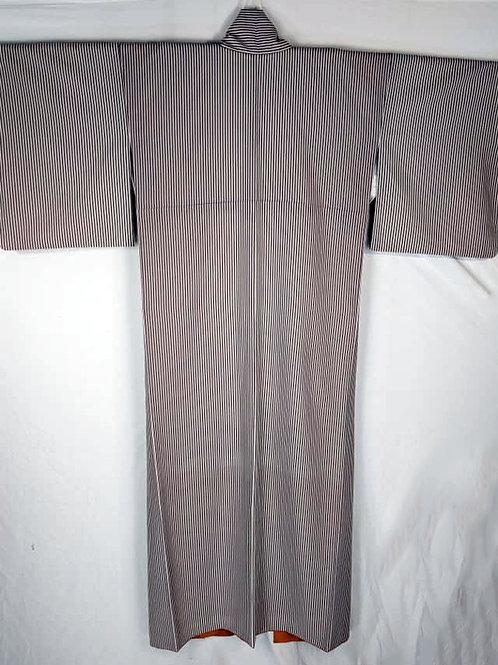 White & Sage Green Japanese Kimono