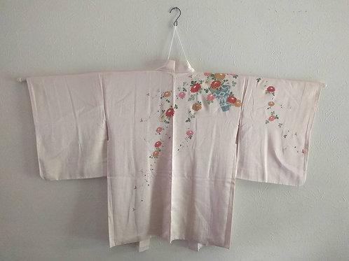 Pink Haori Kimono Coat