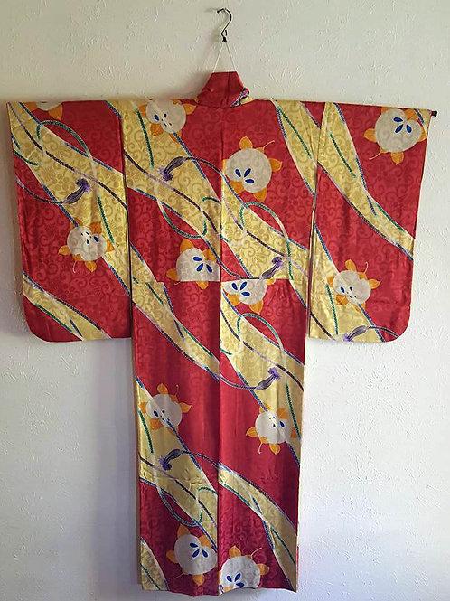 Antique Japanese Kimono