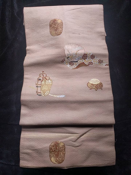 Japanese Nagoya Obi For Kimono