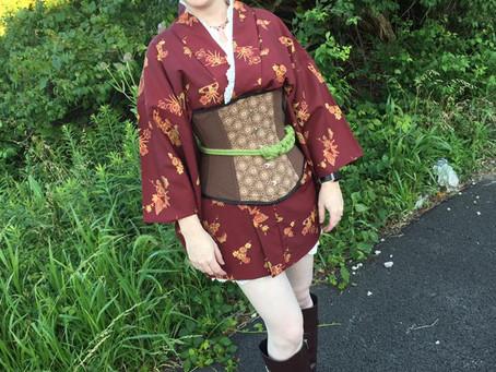 Steampunk Kimono Haori Coordination