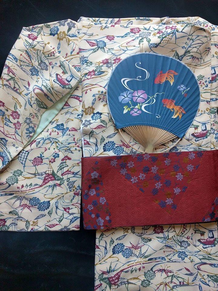 Kimono Kitsuke Coordination For Sale