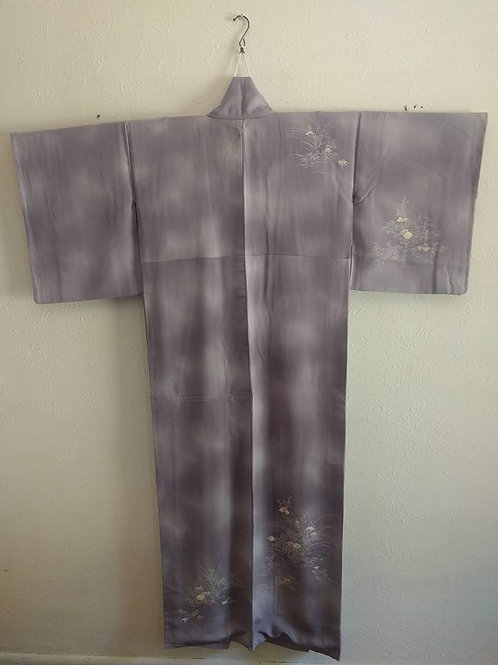 Purple Japanese Kimono