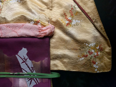 Kimono Coordination Inspiration Featuring Ohio Kimono Inventory