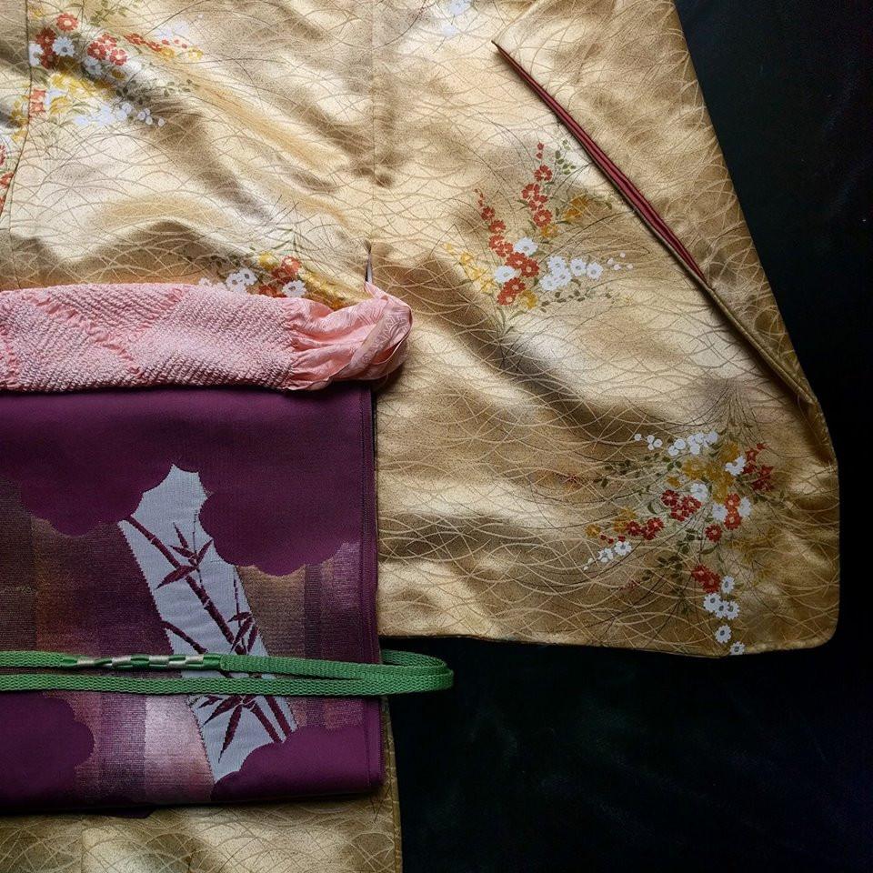Japanese Kimono Robe For Sale