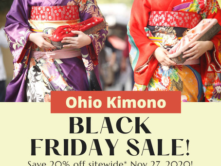 Black Friday Kimono Sale Starts @ Mid-Night!