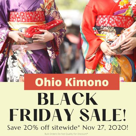 Black Friday Kimono Sale Starts @ Mid-Night!