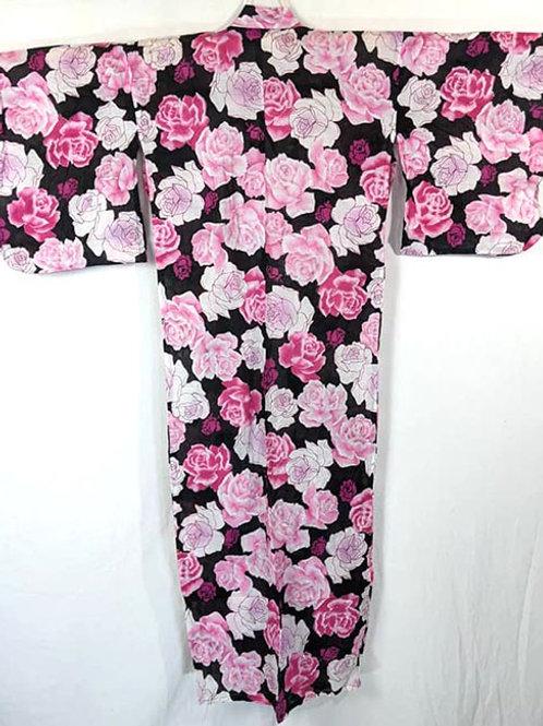 rose yukata