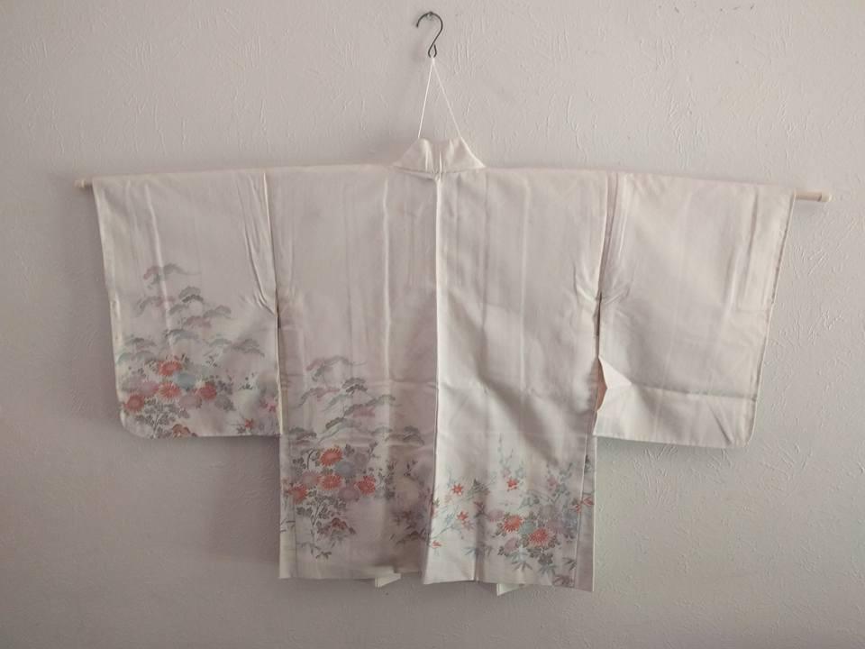 Silk Women's Haori - Urushi