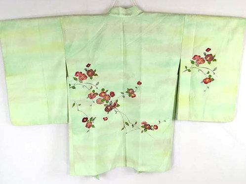 green haori from japan