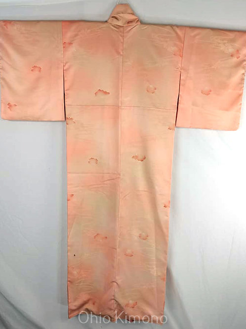 Peach Japanese Kimono