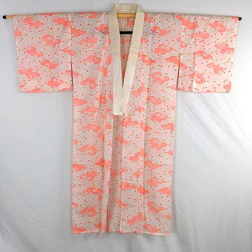 pink cotton juban for kimono